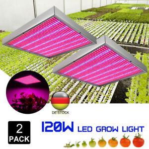 2×120W 1365 LED Pflanzenleuchte Pflanzen Lampe Licht Wachstum Plant Grow Light