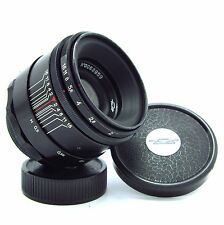 HELIOS 44 f258mm -Rare version Black glossy 13-blades- MADE in USSR №0063959