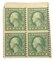 1919 US Postage Stamp #538a Mint NH Very Fine Original Gum Block of 4 CV $250