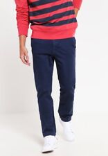 WAVEN MENS VALENTIN NAVY CHINO SLIM LEG - W30/L32 RRP £55
