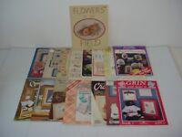 Lot of 16 Assorted Cross Stitch Magazines