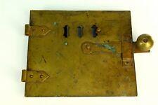 ! Antique Bronze & Cast Iron Fireplace Stove Oven Door Industrial Hatch Vent