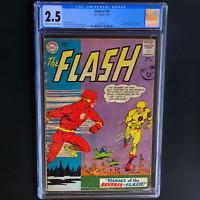 THE FLASH #139 (DC 1963) 💥 CGC 2.5 OW-W 💥 1ST APP REVERSE-FLASH PROFESSOR ZOOM