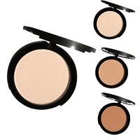 Fondation Poudre Compacte Maquillage Visage Fond Teint Correcteur Eponge Powder