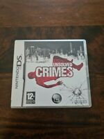 Unsolved Crimes (Nintendo DS) - Game  BYVG The Cheap Fast Free Post