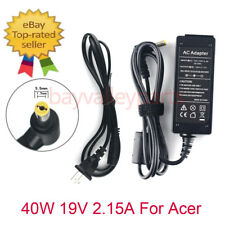 AC Adapter Charger for Acer Aspire One 521 533 D150 D255E D260 Za3 PAV70 KAV10