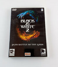 Black and & White 2 DVD-ROM MAC OS Video Game Plus Battle of the Gods Expansion