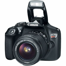 4th Of July Sale NEW Canon EOS Rebel T6 DSLR Camera w/ 18-55mm IS II Lens