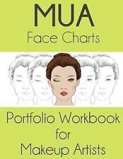 Mua Face Charts Portfolio Workbook for Makeup Artists : Athena Version, Paper...