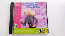 Barbie Software Mattel Secret Agent CD-ROM Pre Owned