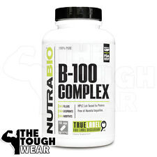 NUTRABIO - VITAMIN B-100 COMPLEX 150caps -  Release Energy from Carbohydrates