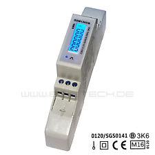 Energiemessgerät Stromzähler MID geeicht zugelassen für Hutschiene mit S0 5(45)A