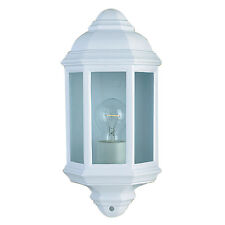Searchlight 280WH White Cast Aluminium Outdoor/Porch Wall Light IP44