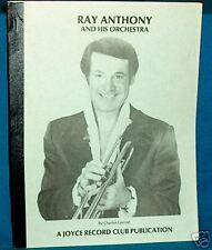 RAY ANTHONY Jazz Big Band DISCOGRAPHY Garrod