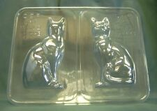 3d Cat CHOCOLATE MOULD/Mold Cake Decorating/DECORATION