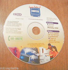 CD ROM per PC guida pratica al computer 2000 memoday carte intestate calcolo