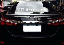 MIT Toyota Corolla Altis ASIA 2014-on ABS rear trunk lip spoiler-Unpainted