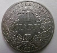 1906, 1 Mark, Germany silver coin, German empire