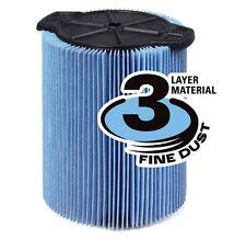 New Ridgid VF5000 Wet Dry Shop Vac Vacuum 3-Layer Pleated Paper Filter