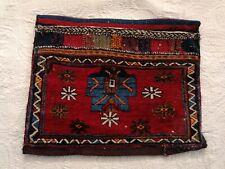 Nr.4)GEREINIGT, Antik Salz-Tasche Teppich Orienttepich,Handgeknüpft