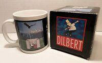 "Dilbert by Scott Adams ""Soaring"" UN-Motivational Comical Collectible Coffee Mug"