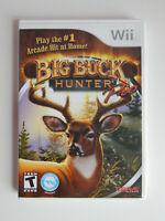 Big Buck Hunter Pro Game in Case! Nintendo Wii