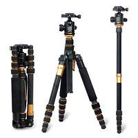 New Professional Carbon Fiber Tripod Ball Head for Canon Nikon Sony DSLR Camera