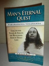 Man's Eternal Quest,Collected Talks and Essays on Realizing God in Daily.1982152