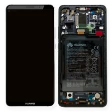 Huawei Pantalla LCD Unidad Marco para mate 10 Pro Servicio embalar 02351rvn Gris
