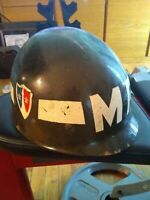 WW2 USA Military Police helmet liner, authentic