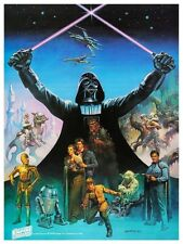 """Empire Strikes Back * POSTER * 24"""" Must See Art Print - Star Wars  VERY RARE PIC"""