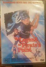 THE LEGEND OF PIRATE'S POINT RARE DVD ASHER METCHIK SAM GIFALDI GOONIES FILM EXR