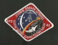 """SHUTTLE COLUMBIA STS-40    PATCH 6 1/4 """"  ****"""