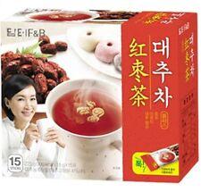 Damtuh Jujube Tea 15sticks Korean Food Instant Powdered Beverage JUJUBE TEA FOOD