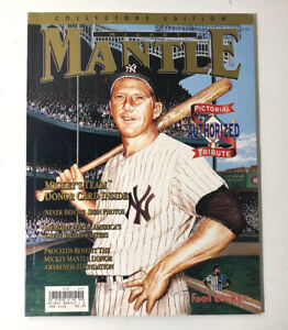 Mickey Mantle Collectors Edition Magazine From 1995