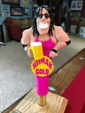 ***NEW & SUPER RARE*** VALLEY BREWING COMPANY HITMAN GOLD BEER TAP HANDLE