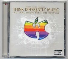 Think Differently Music WU-TANG Meets The Indie Culture - CD a109