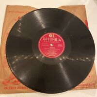 "Ray Noble I Wish I Knew The Name/Serenade 10"" 78RPM Columbia Vinyl"