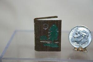 Miniature Dollhouse Trees of Minnesota Micro Miniature Book Illustrated Readable