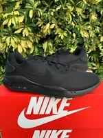 Nike Air Max OKETO Mens Triple Black Sneakers Running Cross Training Shoes Size