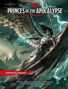 Dungeons & Dragons - Princes of the Apocalypse Adventure   DnD D&D