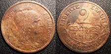 France - IIIème République - 2 centimes Daniel Dupuis 1914 - F.110/17