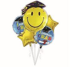 5 Pieces/set Congrats Grad Stars Foil Balloons Graduation Party Decoration