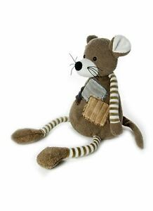 Mousehouse 30cm Mouse  Soft Toy Cuddly Toy with Striped Arms and Legs