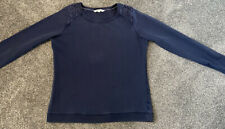 Ladies Fat Face Blue Sweater Size 14