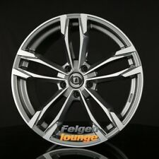4 Alufelgen DIEWE WHEELS AVIO PLATIN S MACHINED - Anthrazit Frontpoliert 7,5x19