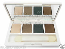 CLINIQUE All About Eye Shadow Quad ☆ Ivory Bisque Tarnish Gold Olive Night Cap ☆
