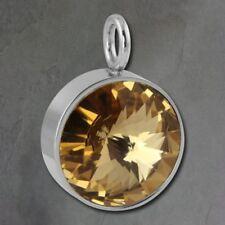 Collares y colgantes de bisutería colgantes color principal amarillo de acero inoxidable