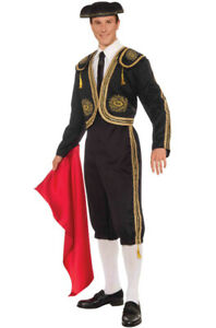 Brand New Spanish Bullfighter Male Matador Adult Costume