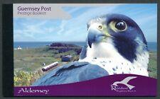 2008 ALDERNEY RESIDENT BIRDS PART 3: RAPTORS PRESTIGE BOOKLET FINE MINT MNH